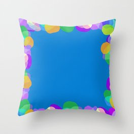 Colorines Throw Pillow