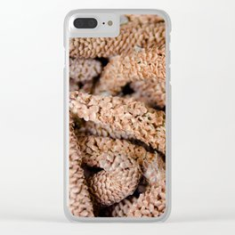 Nature Abstract 4 Clear iPhone Case