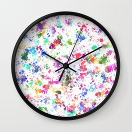 Expression of color Wall Clock