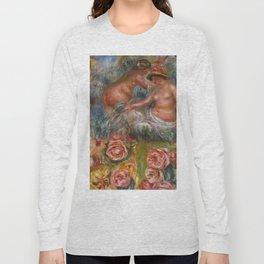 """Auguste Renoir """"Étude De Nus Et De Fleurs"""" Long Sleeve T-shirt"""