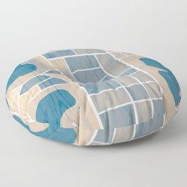 Orlando City Map Floor Pillow