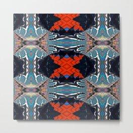 Vibrational Pattern 2 Metal Print