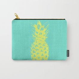 Yellow Pineapple Carry-All Pouch