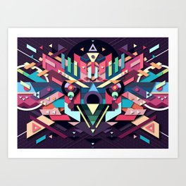 BirdMask Visuals - Sparrowhawk Art Print