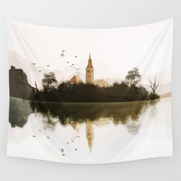 Lake Bled, Slovenia. Wall Tapestry