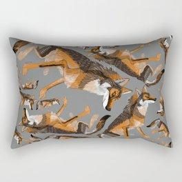 Totem Iberian wolf Rectangular Pillow