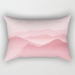 Pink Forest Rectangular Pillow