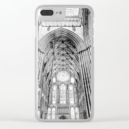 York Minster Art Clear iPhone Case