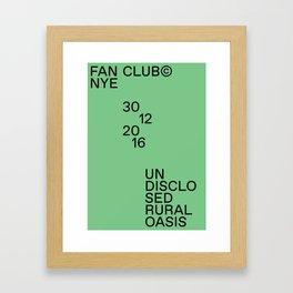 Fan Club© NYE16 Framed Art Print