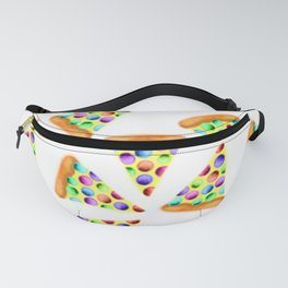 Rainbow Pizzas! Fanny Pack