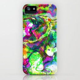 The Screaming Psychedelic iPhone Case