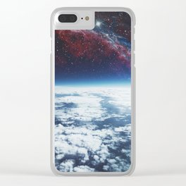 Space Age Clear iPhone Case