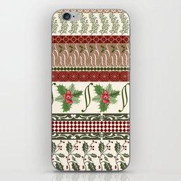 Mistletoe Ugly Sweater iPhone Skin
