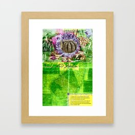 Jenny Lind Melon Framed Art Print