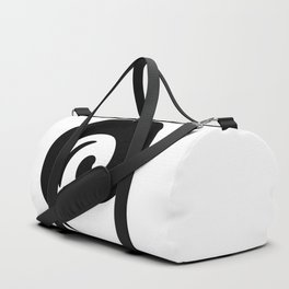 Yin Yang Exagerated Duffle Bag