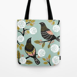 Winterbirds Tote Bag