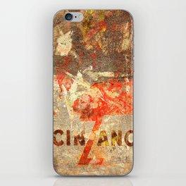 Cinzano - Vintage Vermouth iPhone Skin