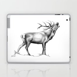 Red Stag Roaring 2 Laptop & iPad Skin