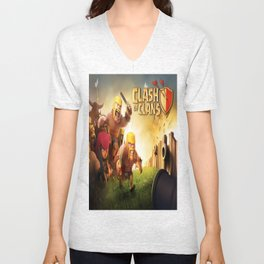 clash of clans Unisex V-Neck