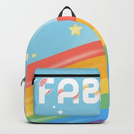 Fabulous Sparkling Rainbow Unicorn Backpack