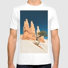 Desert Landscape #photography White Mens Fitted Tee MEDIUM