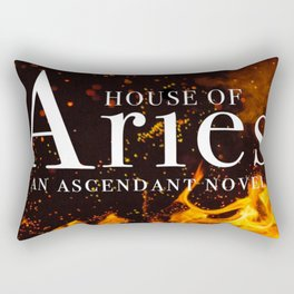 House of Aries Fire Rectangular Pillow