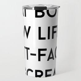 Butt-Faced Miscreant Gilmore Girls Travel Mug