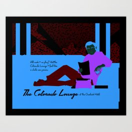 The Colorado Lounge at the Overlook Hotel Art Print