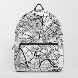 Dresden Map Gray Backpack