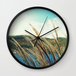 Lakeside Breeze Wall Clock