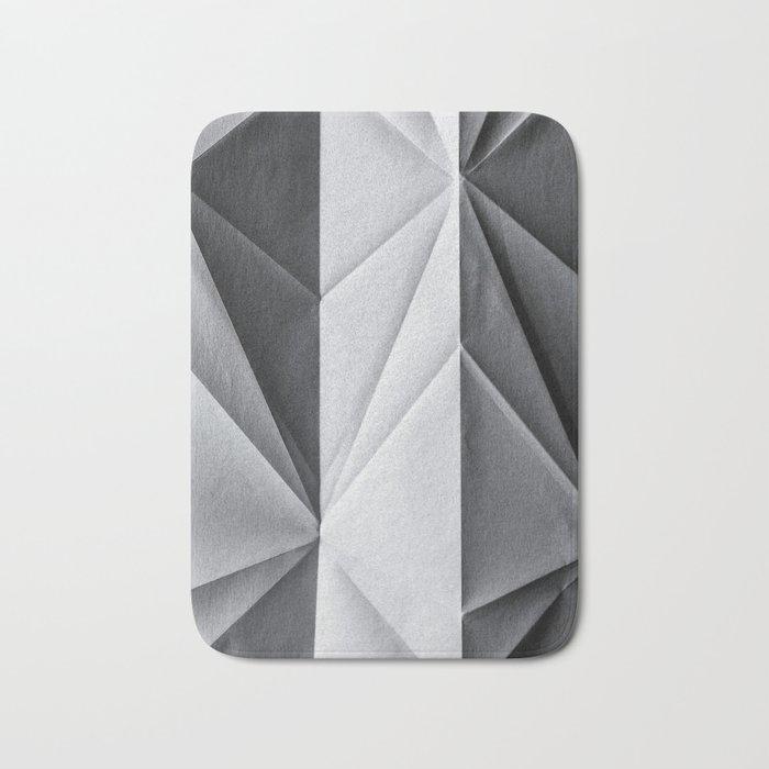 Folded Paper 1 Bath Mat