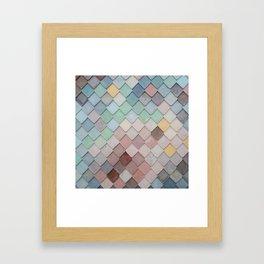Urban Mosaic Framed Art Print