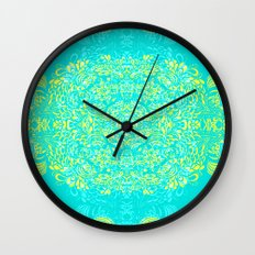 Thinking - 2 colour zest Wall Clock