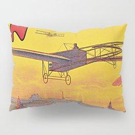 1910 Aviation week Lyon France Pillow Sham