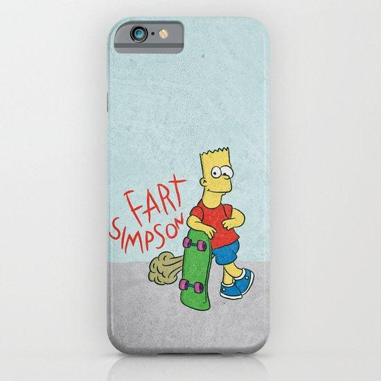 FART SIMPSON iPhone & iPod Case