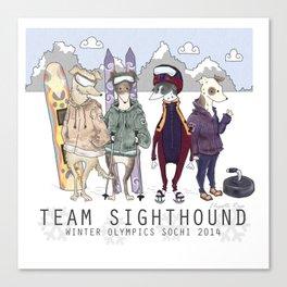 Sochi 2014 Winter Olympics Russia Canvas Print