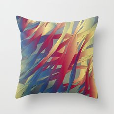 Modern Aquatic Nightsongs Throw Pillow