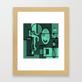 Whodunnit Framed Art Print