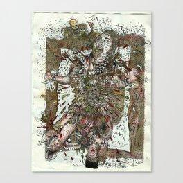 Martyr Dumb Canvas Print