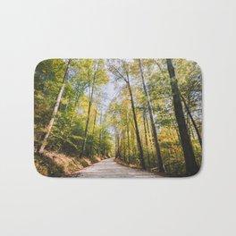 Forest Road - Muir Valley, Kentucky Bath Mat