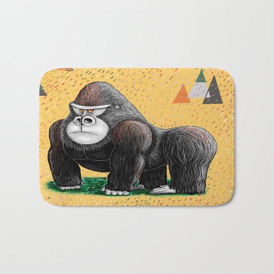 Endangered Rainforest Mountain Gorilla Bath Mat
