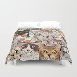 A lot of Cats Duvet Cover