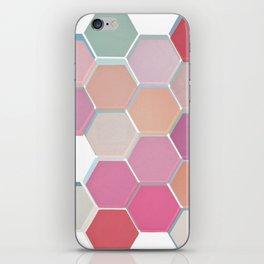 Layered Honeycomb 003 iPhone Skin
