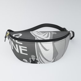 retro classic Weston Super Mare poster Fanny Pack