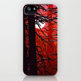 September in the boreal forest iPhone Case