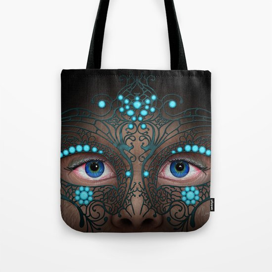 Halloween Mask - Painting Tote Bag