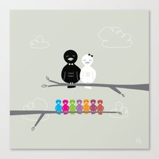 The Happy Family Canvas Print