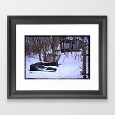 To Your Right Framed Art Print