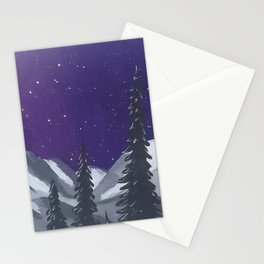 Northern Cascades 3 of 3 Stationery Cards