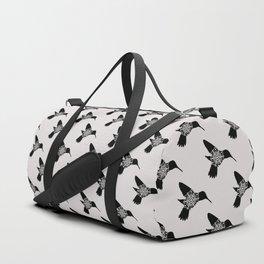 Hummingbird Mandala Duffle Bag
